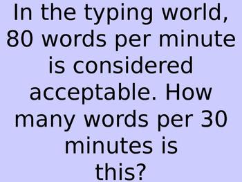 Proportion Bingo