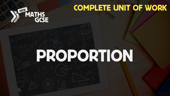 Proportion - Complete Unit of Work