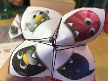 Solving Proportions Activity - Cootie Catcher