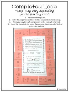 Proportion Loop Cards