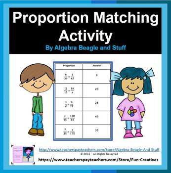 Proportion Matching Actvity