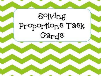 Proportion Task Cards