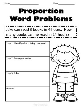 Proportion (Word Problems)