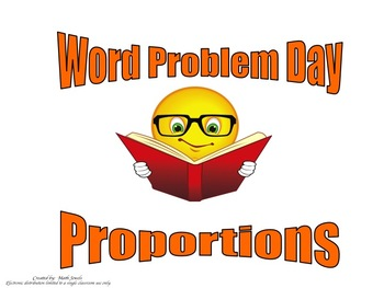 Proportion Word Problems (Instructional PowerPoint and Ass