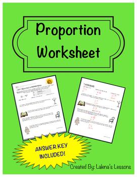 Proportion Worksheet