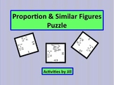 Proportion and Similar Figure Puzzle (Digital/PDF)