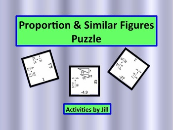 Proportion and Similar Figure Puzzle