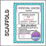 Proportional Equations