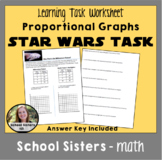 Distance Learning - Proportional Graphs Star Wars Task