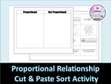Proportional Relationships Sort