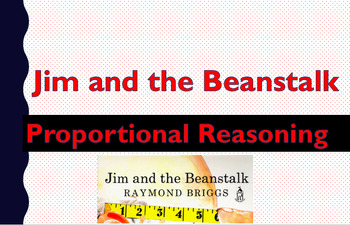Proportional Reasoning: Creating glasses for the book Jim and the Beanstalk