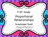 Proportional Reasoning Scavenger Hunt