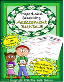 Proportional Reasoning Worksheets & Test - 7th Grade