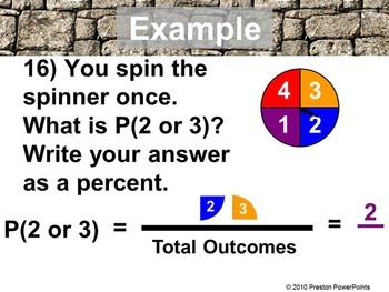 Proportional Reasoning and Statistics Review in a PowerPoint Presentation