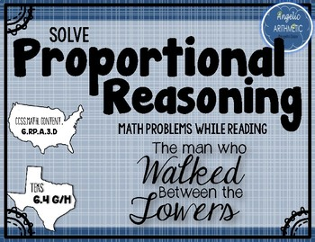 """Proportional Reasoning in """"The Man who Walked Between the Towers"""""""