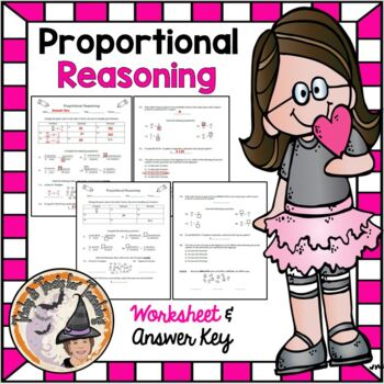 Proportional Reasoning w/ Answer KEY Ratios Proportions Unit Rate FDP Conversion