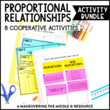 Proportional Relationships Activity Bundle