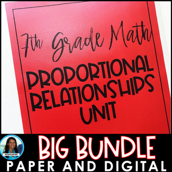 Proportional Relationships Big Bundle