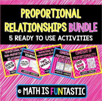 Proportional Relationships Bundle