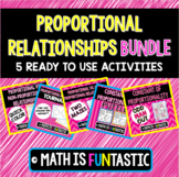 Proportional Relationships Bundle