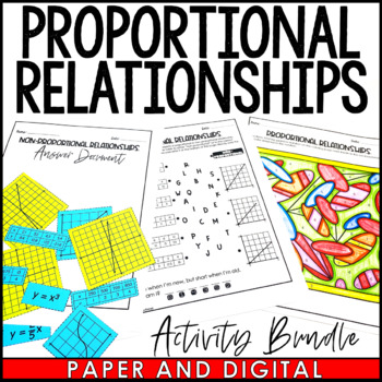 Proportional Relationships Activity Pack