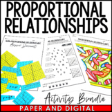 Proportional Relationships Activity Pack - Distance Learning