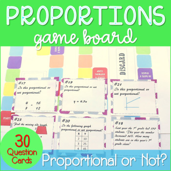 Proportional Relationships Game Board *~Aligned to Common Core 7.RP.2 & 7.RP.3~*