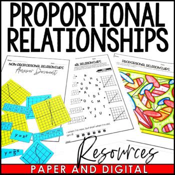 Proportional Relationships Lesson Bundle