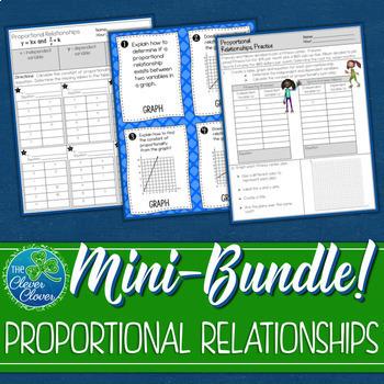 Proportional Relationships Mini-Bundle - 7.RP.2