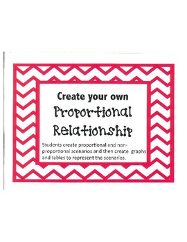 Proportional Relationships Mini-Project