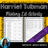 Proportional Relationships Mistory Lib Activity: Harriet Tubman Theme