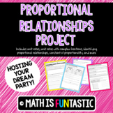 Proportional Relationships Project - Planning Your Dream Party