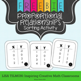 Proportional Relationships Sorting Activity