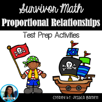 Proportional Relationships Test Prep Activities