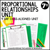 7th Grade Proportional Relationships Unit:  7.RP.1, 7.RP.2