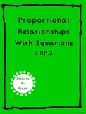 Constant of Proportionality with Equations (7.RP.2)