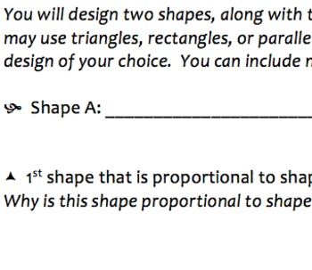 Proportional Shapes Mini Project (Could Possibly be Used for Extra Credit)
