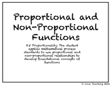 Proportional and Non-Proportional Functions