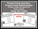 Proportional and Non-Proportional QR Code Task Cards