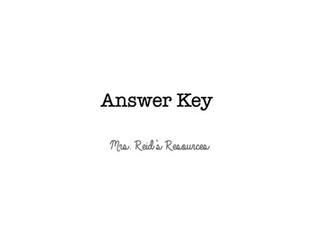 Proportional and Nonproportional Situations Answer Key