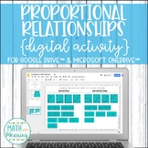 Proportional or Not? DIGITAL Card Sort Activity for Google Drive & OneDrive