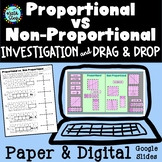 Proportional vs Non Proportional Investigation & Activity