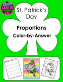 St. Patrick's Day Proportions Color-by-Answer