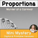 Ratios and Proportions Activity! Murder Mystery! Digital & Printable Activity!