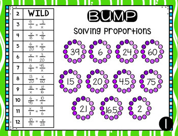 Proportions Math Station Bump
