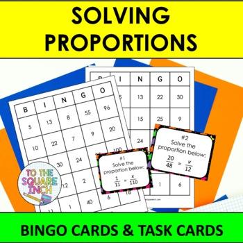 Proportions Bingo