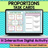 Proportions Digital Task Cards