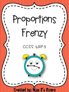 Proportions Frenzy 6.RP.3