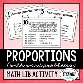 Proportions Math Lib