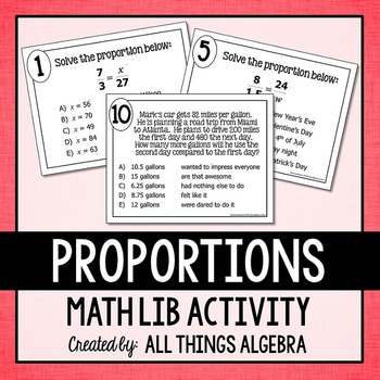 Proportions Math Lib